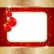 Christmas vector background — Stock Vector
