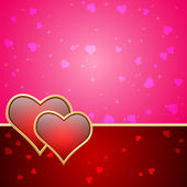 Valentine's Day background — Vecteur