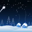 Christmas vector background — Stockvektor