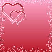 Valentine's Day background. — Wektor stockowy
