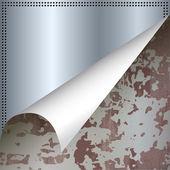Streszczenie tło metalowe — Wektor stockowy