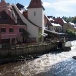 Cesky krumlov. Historyc town — Stock Photo #20089913