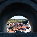 Cesky krumlov. Historyc town — Stock Photo #20090083