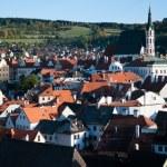 Cesky krumlov. Historyc town — Stock Photo #20090089