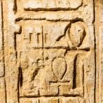 Columns' detail in the Karnak temple in Luxor, Egypt — Stock Photo #20803213