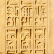 Foto Stock: Hieroglyphs in Karnak, Egypt