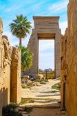 Karnak temple in Luxor, Egypt. — Stock Photo