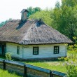 A typical ukrainian antique house - 图库照片