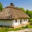 A typical ukrainian antique house — Stock Photo