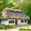 A typical ukrainian antique house — Foto de Stock