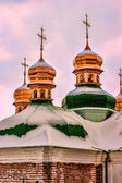 """Onion"" Roofs in Lavra — Stock Photo"