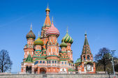 Intercession Cathedral Saint Basil's — ストック写真