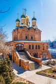 Church of the Znamensky Monastery — Stock Photo