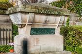 Tomb of La Fontaine in Pere Lachaise Cemetery — Stock Photo
