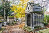 View of Pere Lachaise Cemetery — Stock Photo