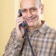 Happy Man on Phone — Stock Photo #35588821