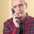 Preoccupied Man on Phone — Stock Photo #35588953
