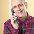 Beaming Man on Phone — Stock Photo #35588989