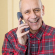 Laughing Man on Phone — Stock Photo #35589157