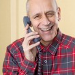 Laughing Mon Phone — Stock Photo #35589157