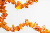 Natural Amber Necklace — Stockfoto