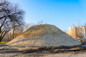 Huge Sand Pile — Stock Photo