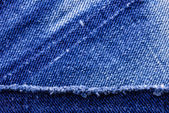 Macro of Jeans — Stock fotografie