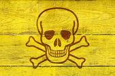 Simbolo di veleno — Foto Stock