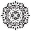 Circle ornament - Stock Photo