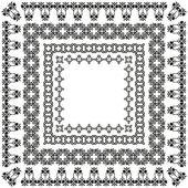 Elegant border set — Stock Vector