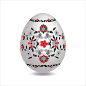 Illustrated Easter Egg — Stock Vector