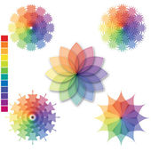 Color scale 01 — Stock Vector