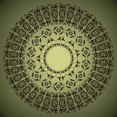 Motif circulaire — Vecteur