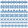 Blue ottomserial patterns three — Stock Vector #34214793