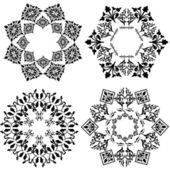 Design element (black and white version) — 图库矢量图片