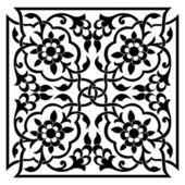 Oriental ottoman design one — Stock Vector