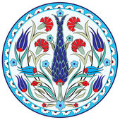東洋オスマン デザイン 7 のバージョン — ストックベクタ