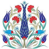 Oriental ottoman design seven — Stock Vector