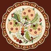 Oriental ottoman design eight — Stock Vector