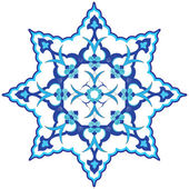 Orientaliska ottomansk design fyrtiotvå — Stockvektor
