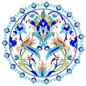 Motivos otomano diseño serie con veinte — Vector de stock
