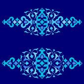 Motivi ottomano versione cinquanta-tre serie di design — Vettoriale Stock