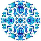 Ottoman motifs design series sixty three — Stock Vector