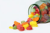 Candy Glass — Stock Photo
