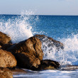 Waves and rocks — Stock Photo