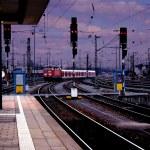 tågstationen — Stockfoto