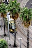 Streetcar or tram — Stock Photo