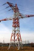 Elektryczne wieży — Zdjęcie stockowe
