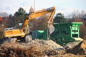 Excavator — 图库照片