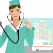 Royalty-Free Stock Vector Image: Nurse
